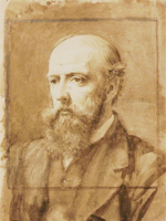Philip Speakman Webb (1831-1915) by Charles Fairfax Murray (Image: National Portrait Gallery)