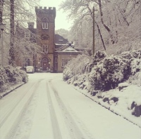Dalton Grange in the snow (Image: Dalton Grange)