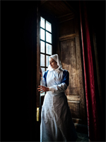Nurse closing the shutters at Dunham Massey (Image: Christopher Davies / Correct Aperture Photography)