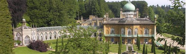 Orangery and Pavilion, Sezincote (Image © Sezincote Estate)
