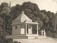 Hindoo Temple, Melchet Park, Wiltshire c.1800 (Image © British Library)