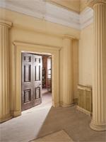 Corridor by Nicholas Revett, Trafalgar Park, Wiltshire (Image © Savills)
