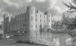 Shirburn Castle, Oxfordshire (J. Skelton, 1825)