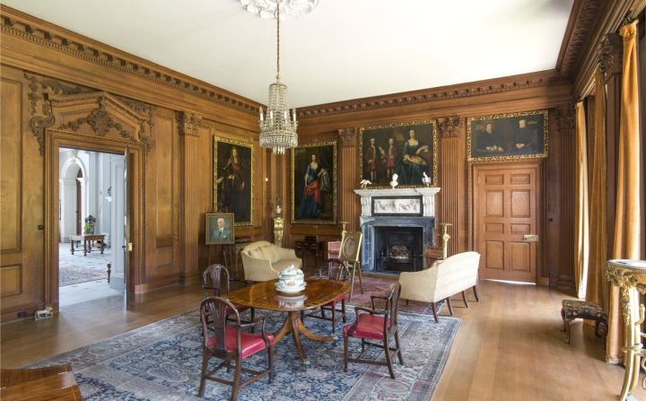 Ombersley Court - Drawing Room (© Savills)