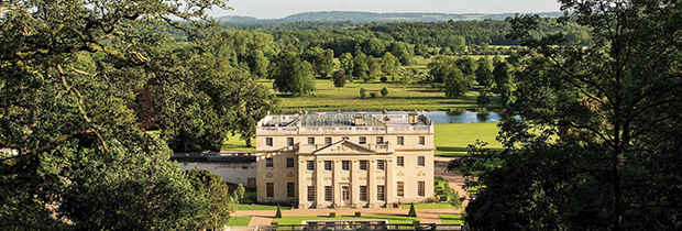 Benham Park - looking out over the lake (Image © Savills)