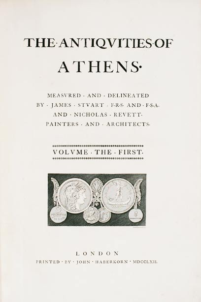 Antiquities of Athens (Vol I) - James Stuart and Nicholas Revett (1762)