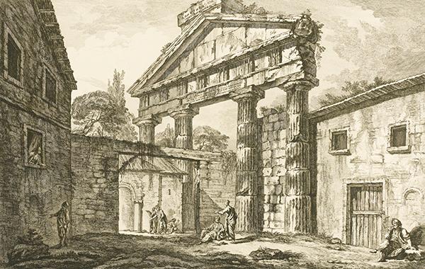 Les Ruines des plus beaux monuments de la Grece (1758) - J.D. Le Roy
