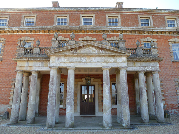 Portico (added in 1766), Trafalgar Park, designed by Nicholas Revett (Image © Matthew Beckett)