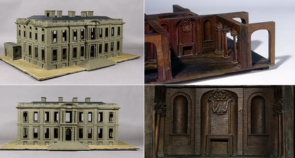 Model of Easton Neston, Northamptonshire, designed by Nicholas Hawksmoor, 1689 (Images © The Art Fund)