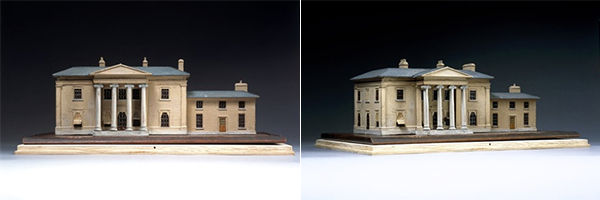 Model of Pyrgo Park, Romford, London (RIBA Collections)