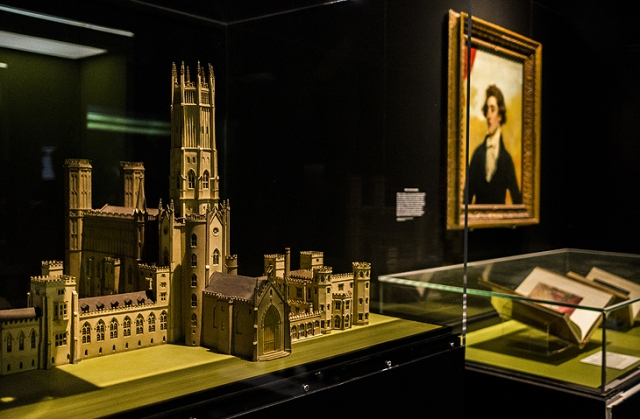 Model of Fonthill Abbey, Wiltshire, designed by James Wyatt. (Image © British Library)