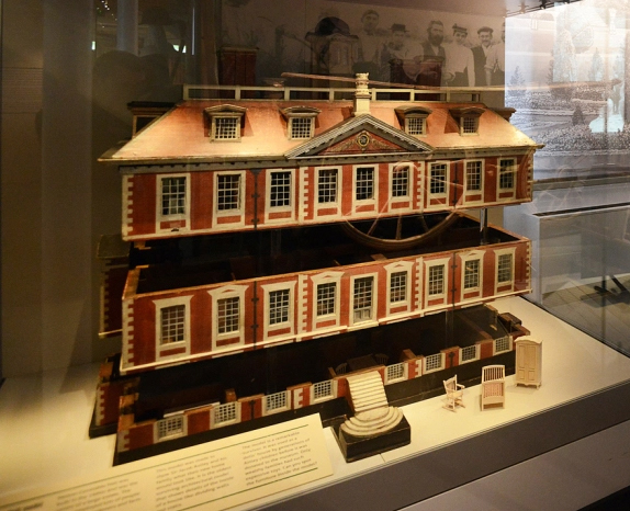 Melton Constable Hall Model (NWHCM : 1971.386) (Image © Gressenhall Farm and Workhouse - Norfolk Museums)