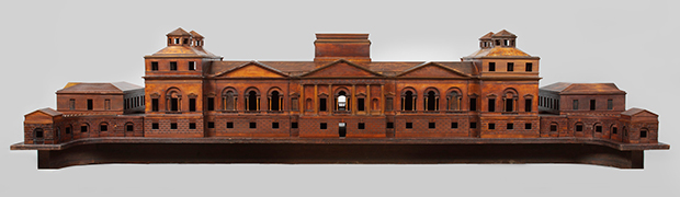 Model of a proposed new palace for Richmond, 1735, designed by William Kent. (Image © The Royal Collection)